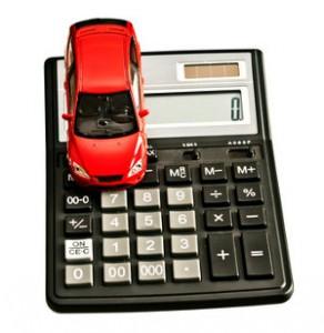 kalkulator i samochód